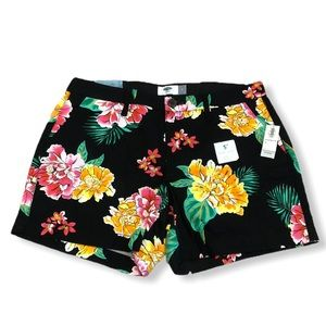 Old Navy Bright Floral Shorts—4